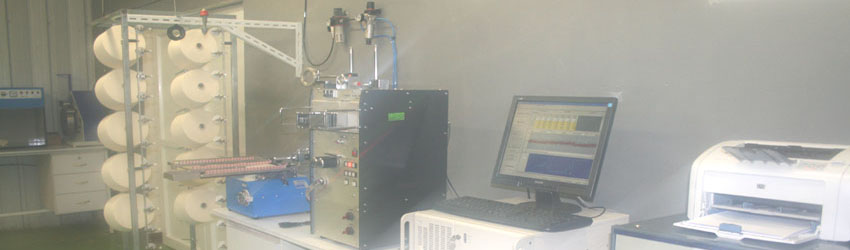 Modern Yarn Quality Testing Lab equipments from MESDAN of Italy